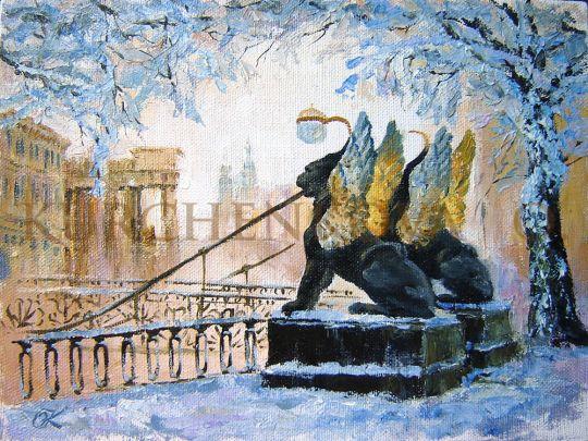 Банковский мостик (зима)